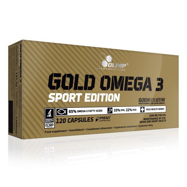 GOLD OMEGA-3 120 CAPS