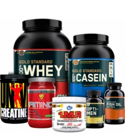Men's Muscle Building 20-39 Stack - Progressive