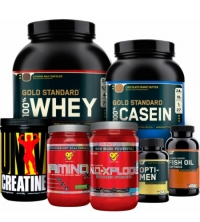 Men's Muscle Building Teen Stack - Progressive